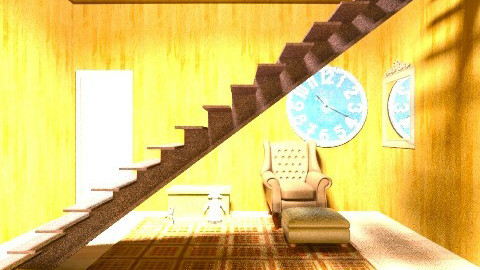 spooky House - Vintage - Living room  - by sherbetlollipop