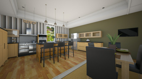 Another kitchen - Kitchen  - by janelle1