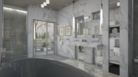 Marbleous - Classic - Bathroom  - by evahassing
