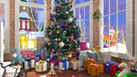 christmas day 2013 - Classic - Living room  - by TammieLynne