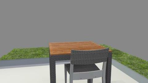 Small Patio - Classic - Garden  - by Adam Leveille