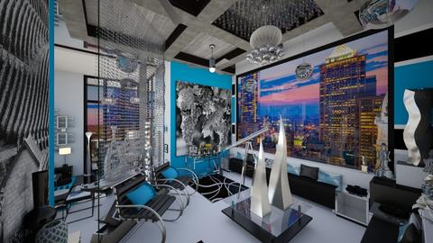 Zenith Skyline Lounge_3 - Modern - by dZynerSuPreme