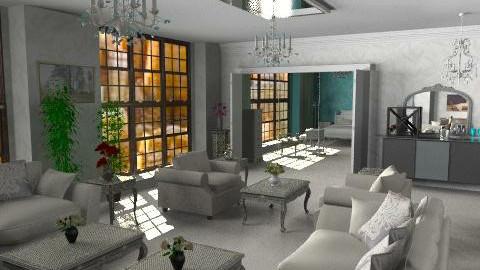 Crosby Street Hotel NYC - Classic - Living room  - by Bibiche