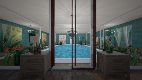 Inside pool - by tompert
