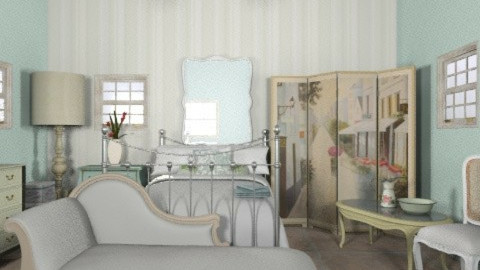 when i went to france..... - Classic - Bedroom  - by decorj