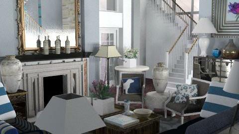 bleu555 - Classic - Living room  - by naki1