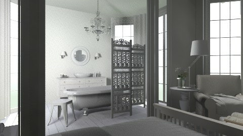 Bathroom - Feminine - Bathroom - by josephinesw