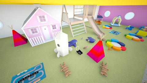 area de juegos - Minimal - Garden  - by ASU ARQUITECTURA