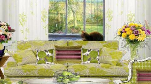 spring  - Modern - Living room - by 5ruzk
