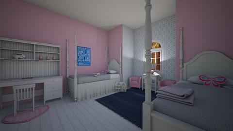 challenge 6 - Kids room  - by sblashack