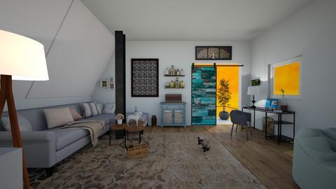 Evening in Brooklyn - Modern - Living room  - by KitchenCat
