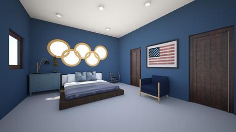 olympics - Bedroom  - by arki2702