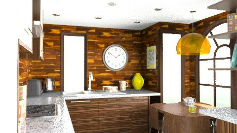 Contest Kitchen - Modern - Kitchen  - by camilla_saurus