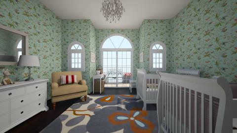 Twins bedroom - by CeliGP