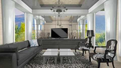 Elegancia - Classic - Living room - by wagner herbst padilha