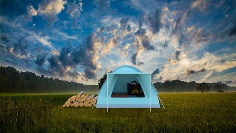 Camping - by Vanessa Aubrey