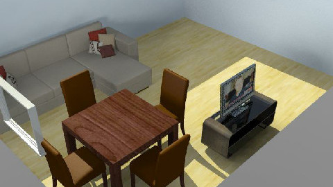 My Room02 - Dining Room  - by ricardojgomez