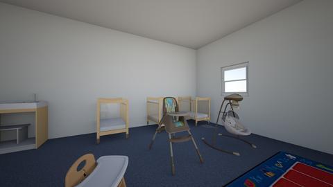 Infant classroom  - by ZVJYPHDRXYZMKTNJYNHNGXGWBXPMAWJ