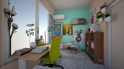 My home - Eclectic - Living room - by stellapnp