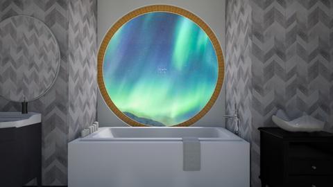 oyster bathroom - Glamour - Bathroom  - by taebay1 OSG