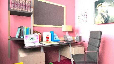 kerja - Minimal - Office  - by Ruske Illa Kengken