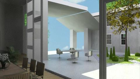 Courtyard House - Modern - Garden  - by WSandP