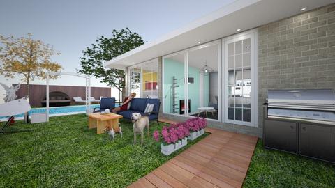 Backyard - Garden  - by NisanLol1