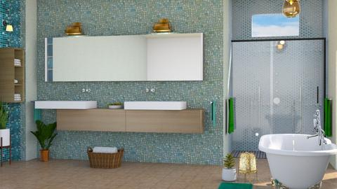 bathroomwoods - Bathroom  - by Moonpearl