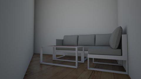 terraza - Living room - by cristilain