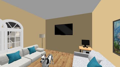 sala proyecto - Living room  - by Timo Copca