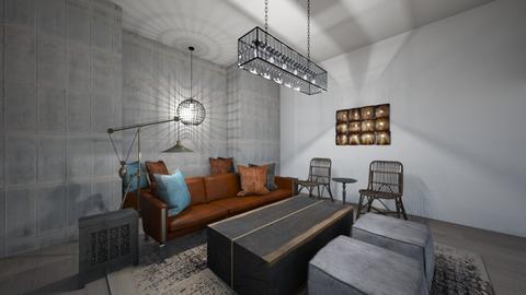The Retro Living Room - Living room  - by Georgiaandres
