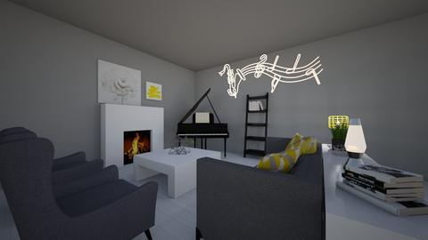 Musical living room - Living room  - by BubbleTeaLover