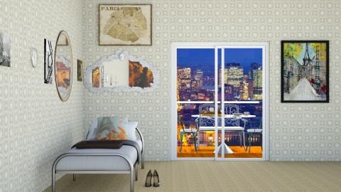 Paris - Classic - Bedroom  - by InteriorDesigner111