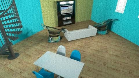 Living in Plastic - Living room - by KamBam04