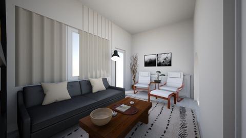 japandi Lroom - Living room - by moon_safi