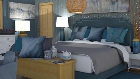 dream - Bedroom  - by Karen Priest