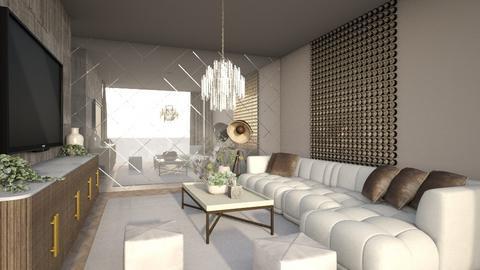 A Minimalist Living Room - Living room  - by Vlad Silviu