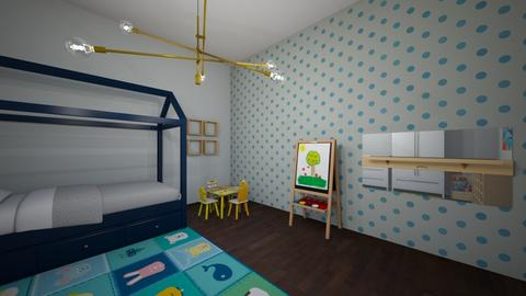 cinza - Living room - by Lflarissa