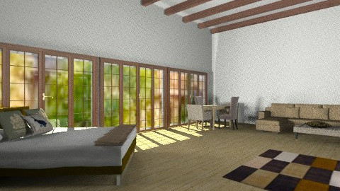 vineyard - Country - Living room  - by Chelsc411