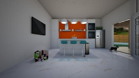 Playful Kitchen - by rlefk