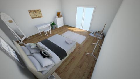 Minimalist - Minimal - Bedroom  - by Gabby Hranica