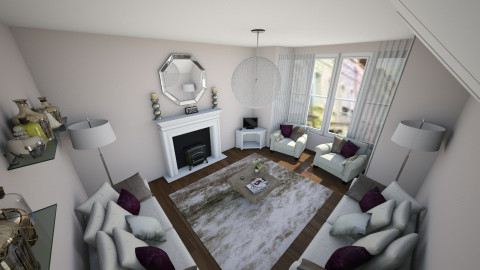 sophisticated class - Glamour - Living room  - by christymarsh2001