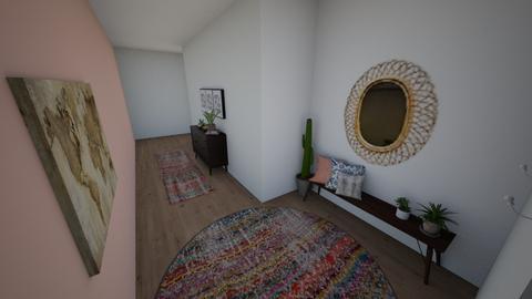 Hallway boho - by intedesi