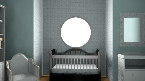 Blue Baby - Modern - Kids room  - by niamichelle
