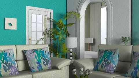 Jade - Glamour - Living room  - by Cathd0411
