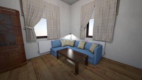 Lenka livingroom - Rustic - Living room  - by lenkasmecno