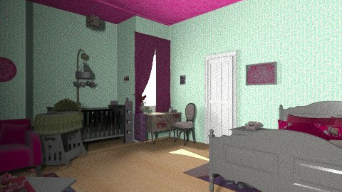 katye and childs - Bedroom - by lisyy