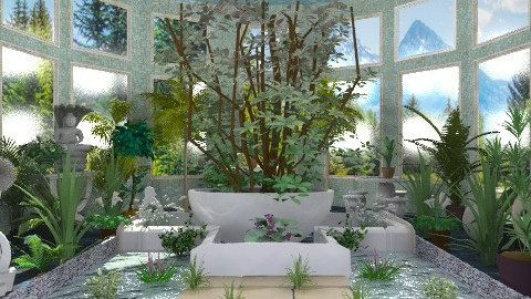 House Plants_ - Garden  - by milyca8