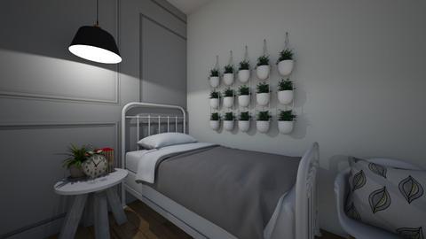 Farmhouse Bedroom - Bedroom  - by KittyKat28