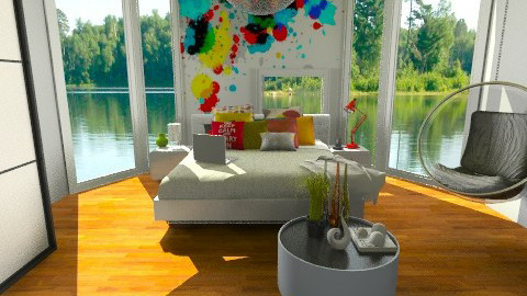 All You Need is Art - Modern - Bedroom  - by idesine